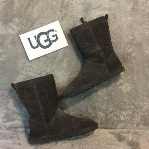 NWOB Suede UGG Gray Boots